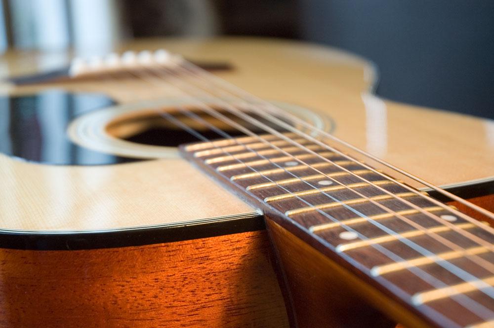 JazzFest Acoustic Guitar, Falmouth, Cape Cod