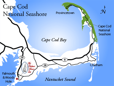 Cape Cod Location Us Map - Cape-cod-on-us-map