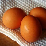 Brown Eggs. Copyright L.V.O'Connell