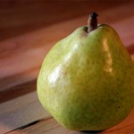 Pear. Copyright L.V.O'Connell.