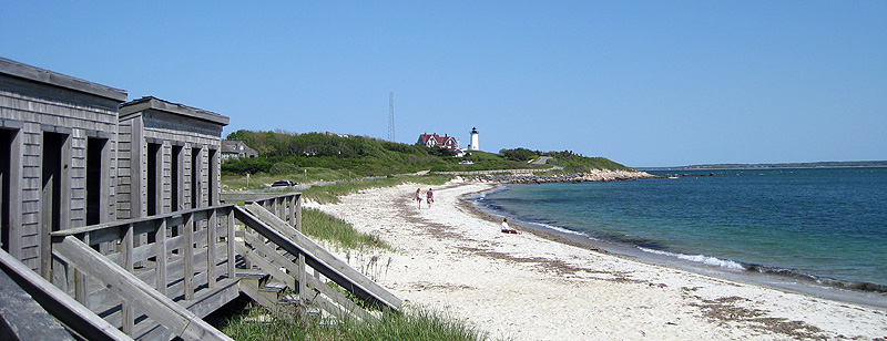 Falmouth beach near Nobska Light