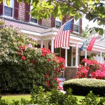 Cape Cod B&B Dressed for Memorial Day