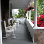 Romantic Porch - Cape Cod Bed and Breakfast
