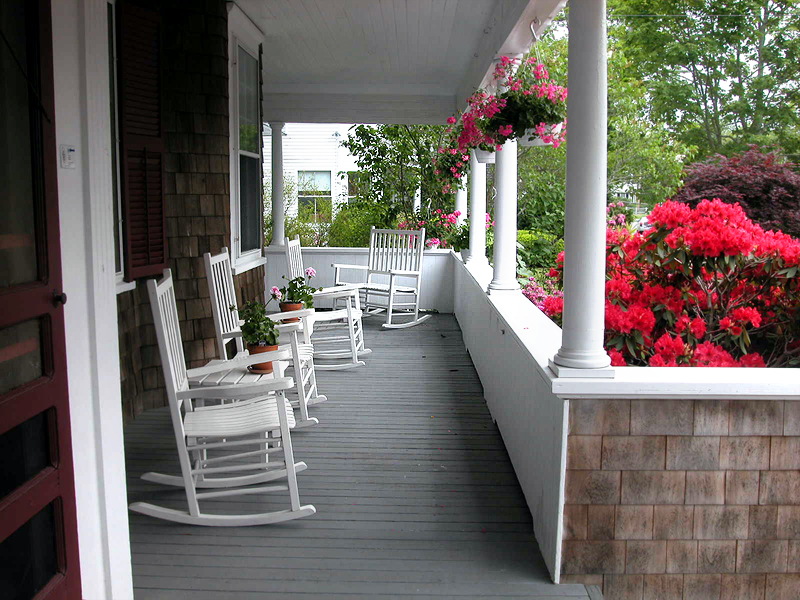Romantic Porch Cape Cod Inn