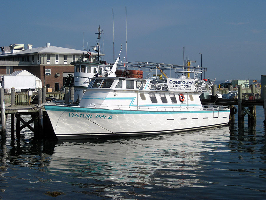Cape Cod's Ocean Quest boat