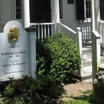 Birthplace of Katherine Lee Bates, Falmouth, Massachusetts.
