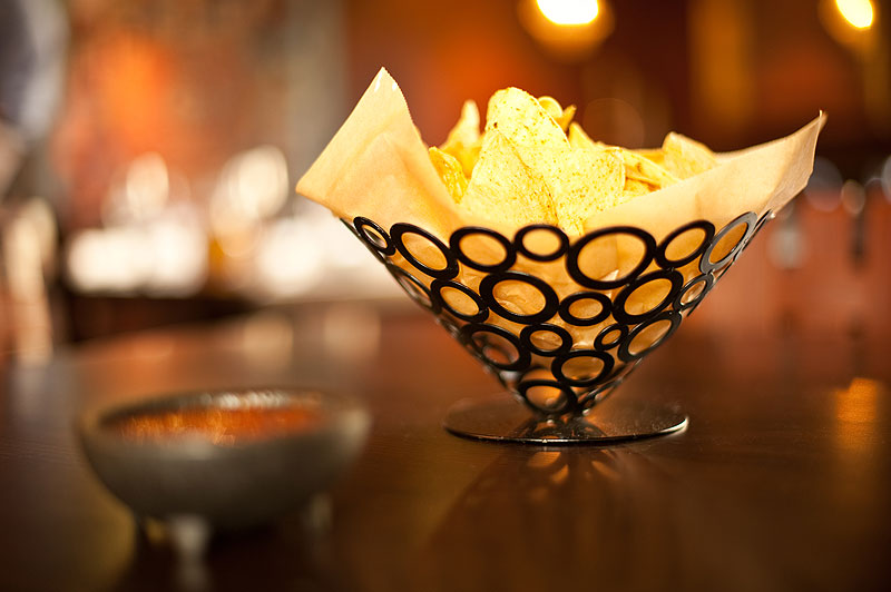 Chips and salsa at Falmouth's Mexican restaurant