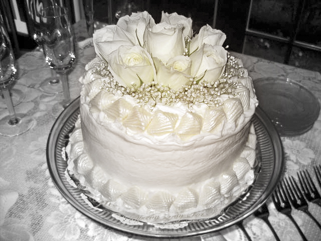 Cape Cod Wedding Cake