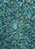 Nebula Aqua, by Sonia King