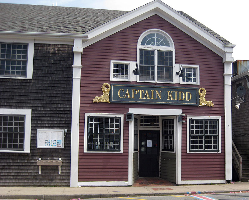 Captain Kidd, Woods Hole, Cape Cod