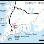 Falmouth Beach Map