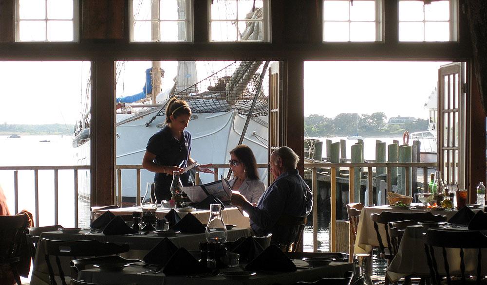 Landfall Restaurant, Woods Hole, Falmouth, Cape Cod