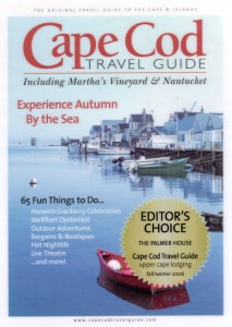Cape Cod Travel Guide Editor's Choice 2006