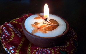 Cape Cod Diwali Candle
