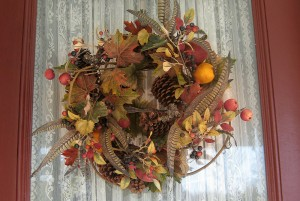 Cape Cod Thanksgiving Wreath