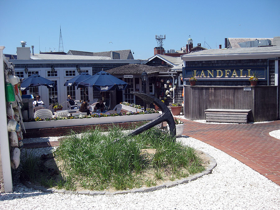 New England Dining at Landfall Restaurant, exterior view