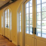 Cape Cod Wedding Reception Hall Arched French Doors