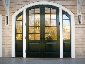 Cape Cod Wedding Reception Hall Doors
