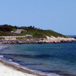Cape Cod Nobska Lighthouse and Beach