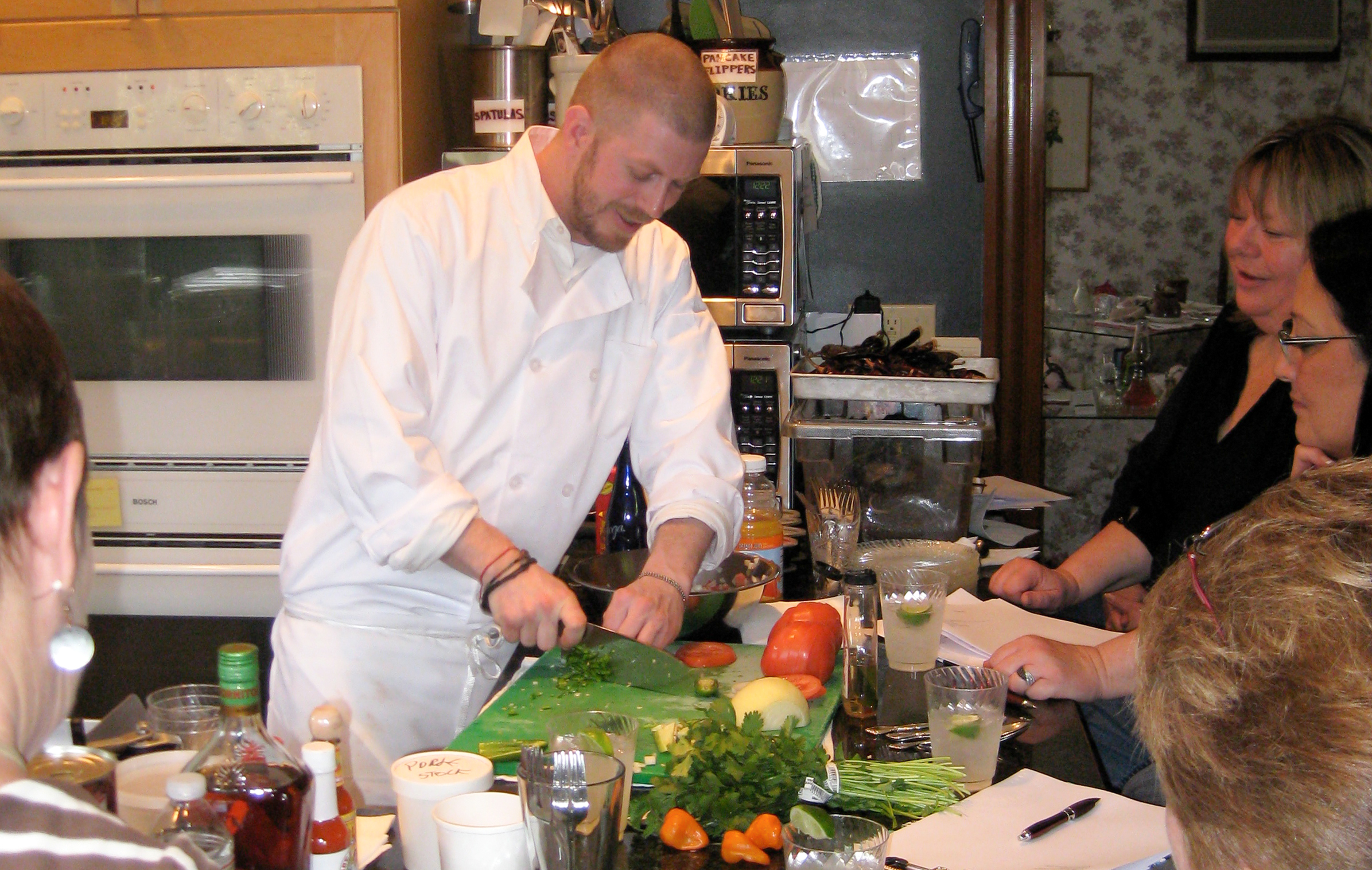 Cape Cod Mexican Cooking Class: Chopping
