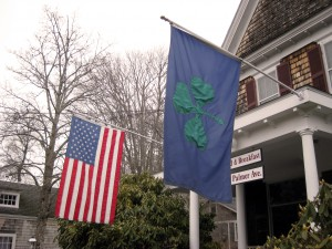 Cape Cod St. Patrick's Day Flag