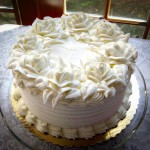Cape Cod designer wedding cake