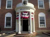 JFK Museum entrance