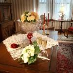 Cape Cod Elopement champagne and bouquet