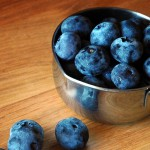 Cape Cod breakfast blueberries
