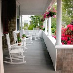 Cape Cod Bed and Breakfast Porch