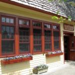 Quarterdeck Restaurant exterior.