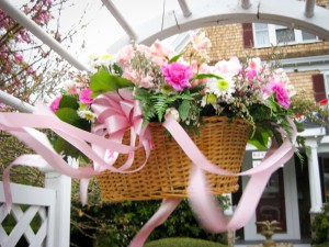 Palmer House May Day basket 2012.