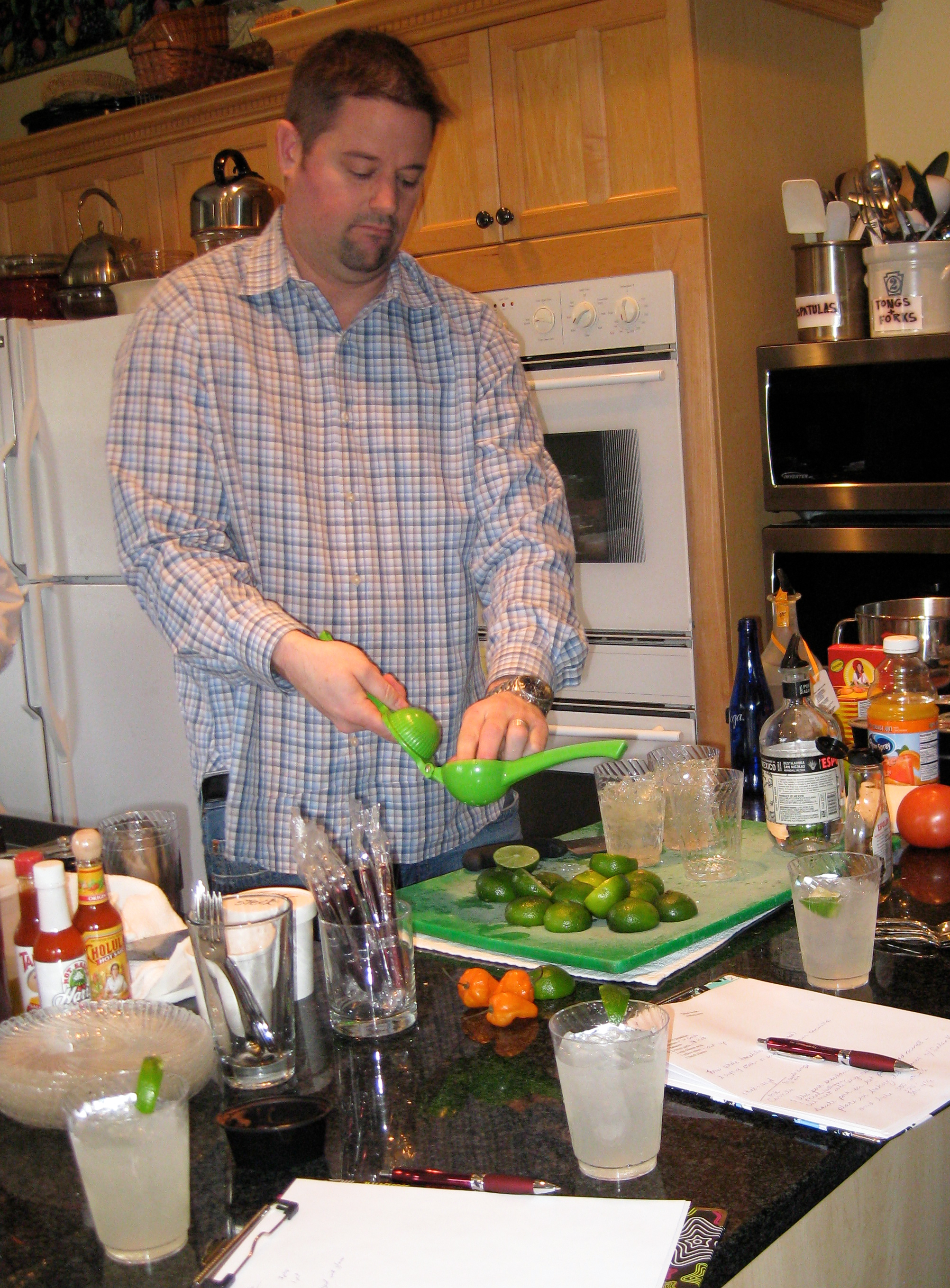 Cape Cod Cooking Class Mexican limes