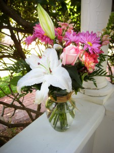 Cape Cod Inn's Mother's Day bouquet in a vase