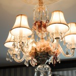 Cape Cod Bed and Breakfast Chandelier with Wedding Decor