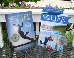 Best of Cape Cod Award 2011 & 2012