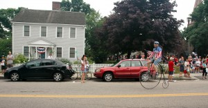 Cape Cod parade Velocipede at Start
