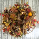 Thanksgiving wreath.