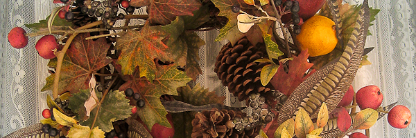 Autumn Wreath on Cape Cod