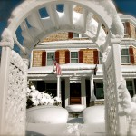 Cape Cod Inn in Snow