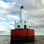 Cleveland Ledge Lighthouse Painting