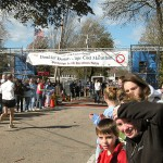 Cape Cod Marathon finish line