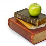 Cape Getaway: Teacher's apple and book