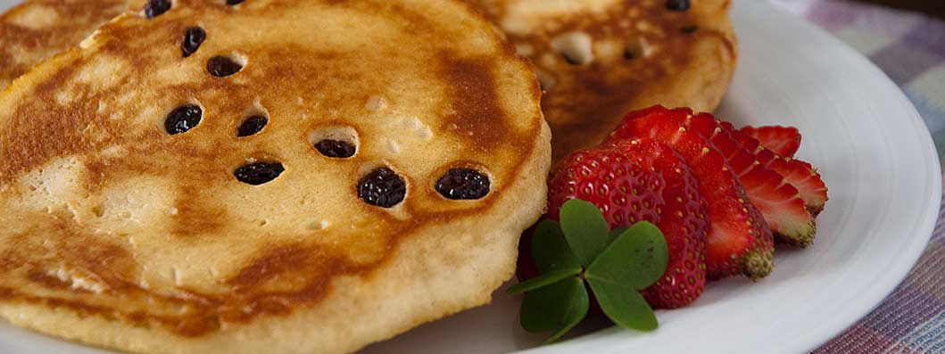 Pancakes for St. Patrick's Day