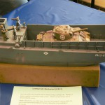 WWII US Navy Landing Craft Model