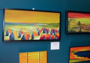 Colorful Paintings at Chafin Gallery
