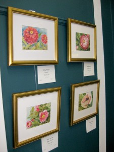 Floral Paintings at Chafin Gallery