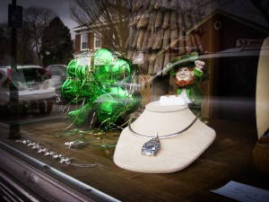 A bit of the green at Falmouth Jeweler.