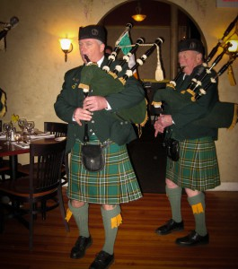 Pipers in Kilts