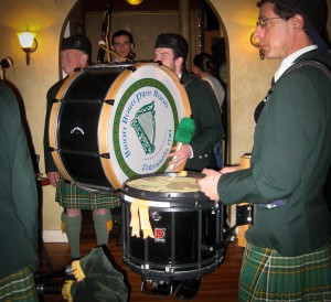 Drums of the Brian Bora Pipe Band